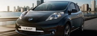 2017 Nissan LEAF Black Edition for UK