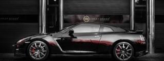Nissan GTR Red Katana by Carlex Design