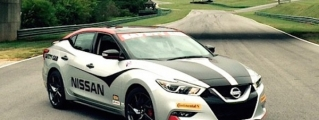 2016 Nissan Maxima Safety Car Unveiled