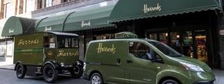 Harrods Get Electric Nissan e-NV200 Delivery Van