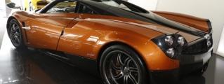 Gallery: Orange Carbon Pagani Huayra