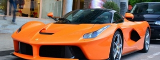 Orange Ferrari LaFerrari Spotted in Belgium