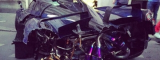 One-Off Pagani Huayra Pearl Crashed in Paris