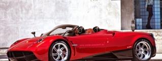 Pagani Huayra Roadster Rendered Anew