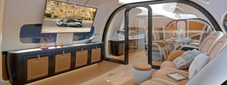 Pagani Design Private Jet Cabin