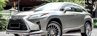 Bold as Hell: Permaisuri Lexus RX on HRE Wheels