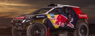 Peugeot 2008 DKR Livery Unveiled