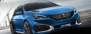 500-hp Peugeot 308 R HYbrid Unveiled