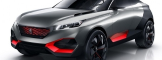 Peugeot Quartz Concept Headed for Paris Debut