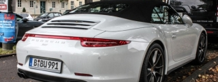 Lovely Spot: Porsche 991 C4S in Germany's Early Autumn