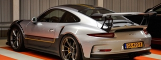 Porsche 991 GT3 RS Spotted with Unique Livery
