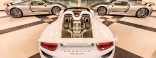 Porsche 918 Triple Threat at Princess Cars