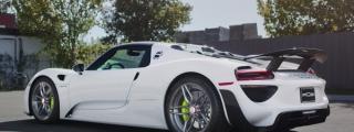 Spotlight: Porsche 918 on PUR Wheels