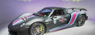 Porsche 918 Weissach Martini from Taiwan