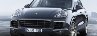 Official: Porsche Cayenne Platinum Edition