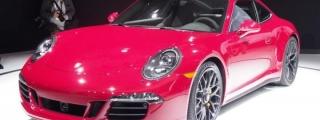 Porsche GTS Family at 2014 L.A. Auto Show