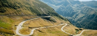 Porsche Convoy Attacks Transfagarasan Highway
