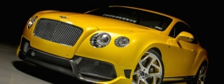 Progressive Bentley Continental GT on Vellano 22s
