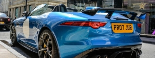 Jaguar F-Type Project 7 Looks Magnificent in Sunny London