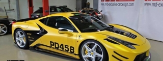 Prior Design Ferrari 458 Dressed Up for Essen