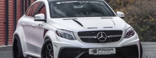 Prior Design Mercedes GLE Coupe Is Something Else