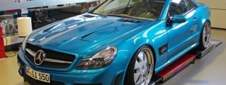 Prior Design Mercedes SL PD63 in Atomic Teal