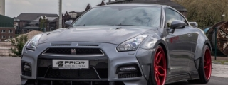 Prior Design Nissan GT-R Wide Body Kit