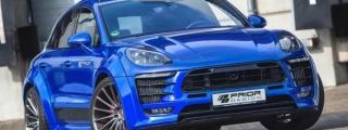 Prior Design Porsche Macan Returns in Blue
