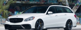 Boss Wagon: RENNtech Mercedes E63 on Vossen Wheels