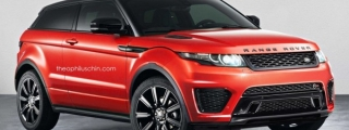 Range Rover Evoque SVR Previewed in Unofficial Renderings