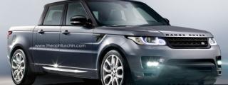 Rendering: Range Rover Sport Pickup Truck!