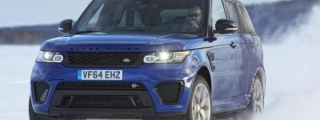 Range Rover Sport SVR Tackles Arctic Silverstone