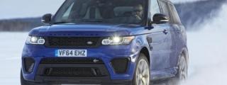 Range Rover Sport SVR Tackles Arctic Silverstone