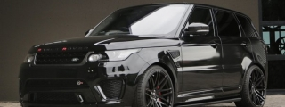 Blacked-out Range Rover Sport SVR by RACE!
