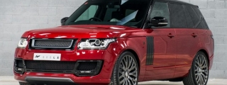 Kahn Design Range Rover Vogue 600-LE in Red