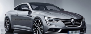 Rendering: Renault Talisman Coupe