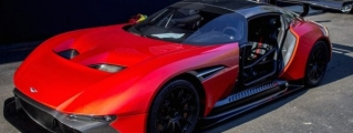 Red Aston Martin Vulcan Delivered in U.S.