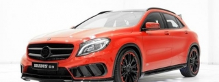 Gallery: Red Brabus Mercedes GLA AMG