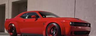 Red Liberty Walk Challenger Hellcat Is Fit for Beelzebub!