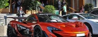 Road Legal McLaren P1 GTR Takes Monaco by Storm