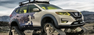 Nissan Rogue Trail Warrior Set for New York Debut