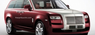 Rolls-Royce Cullinan SUV Imagined by T.Chin