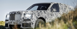Rolls-Royce Cullinan SUV Shows its General Shape