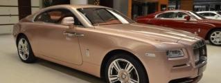 Bespoke: Rolls-Royce Wraith Sunrise