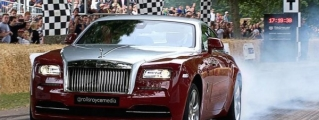 Rolls-Royce Wraith Sets Blistering Goodwood Record