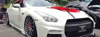 Rowen Nissan GTR Showcased at StanceNation