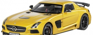 Minichamps Mercedes SLS Black Series Model Car Revealed