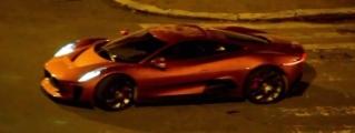 Jaguar C-X75 vs Aston Martin DB10 in SPECTRE Chase Scene