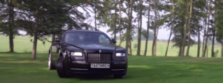 TaxTheRich Goes Garden Racing in Rolls Royce Wraith