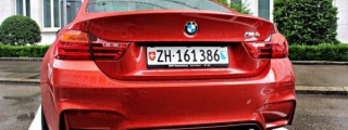Juicy: Sakhir Orange BMW M4 in Switzerland